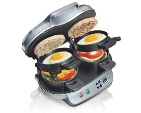 Hamilton Beach® Dual Breakfast Sandwich Maker (25490-SAU)