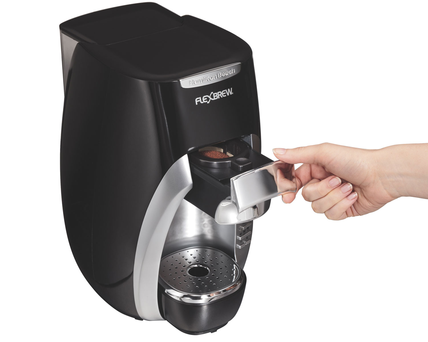 Hamilton BeachR FlexbrewR Single Serve Coffee Maker 49996 SAU